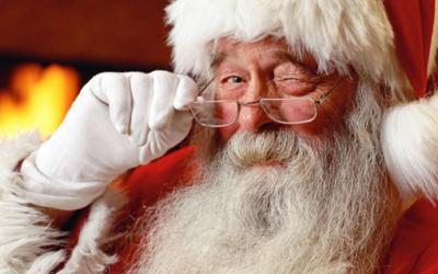 Le Père Noël à Ferrières-Haut-Clocher !