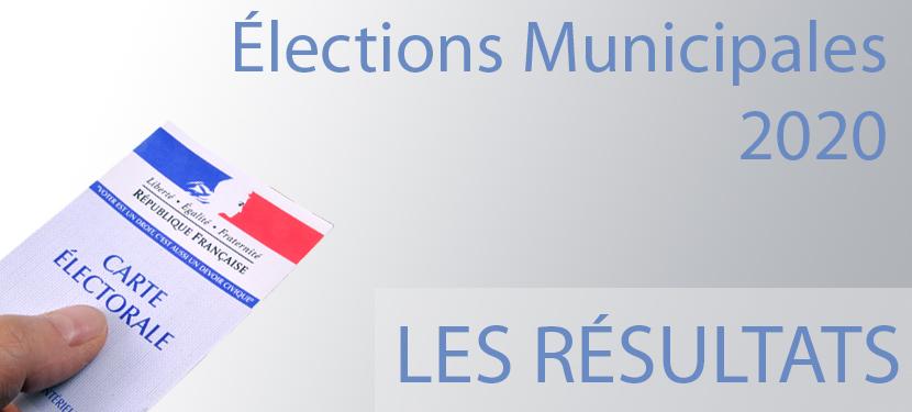 Résultats Municipales 2020