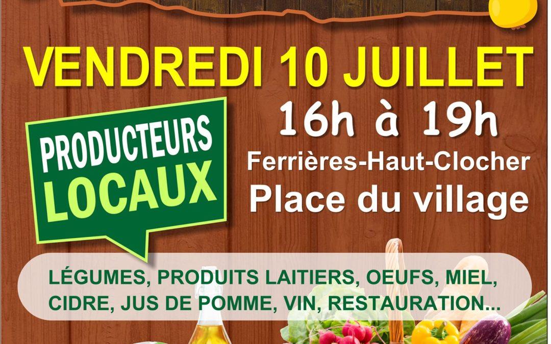 2 eme Edition du « P'tit marché » de Ferrières