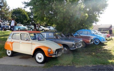 19 & 20 Septembre 2020, journées du patrimoine: Rassemblement de véhicules anciens de collection