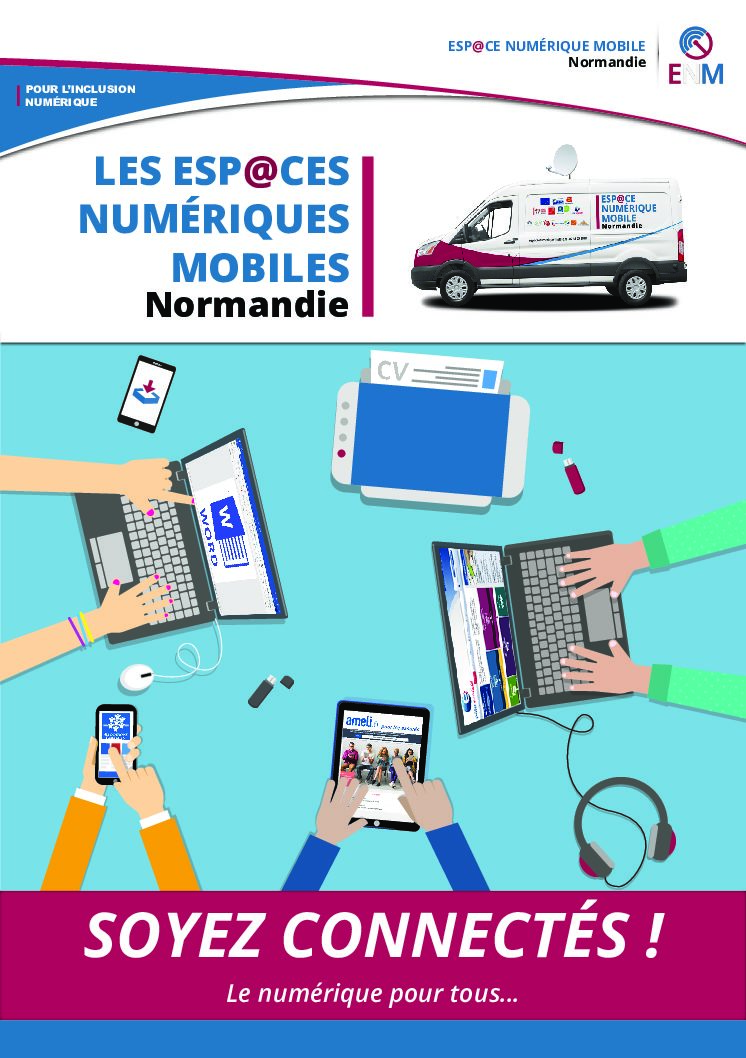 Atelier espace numérique à Ferrières-Haut-Clocher