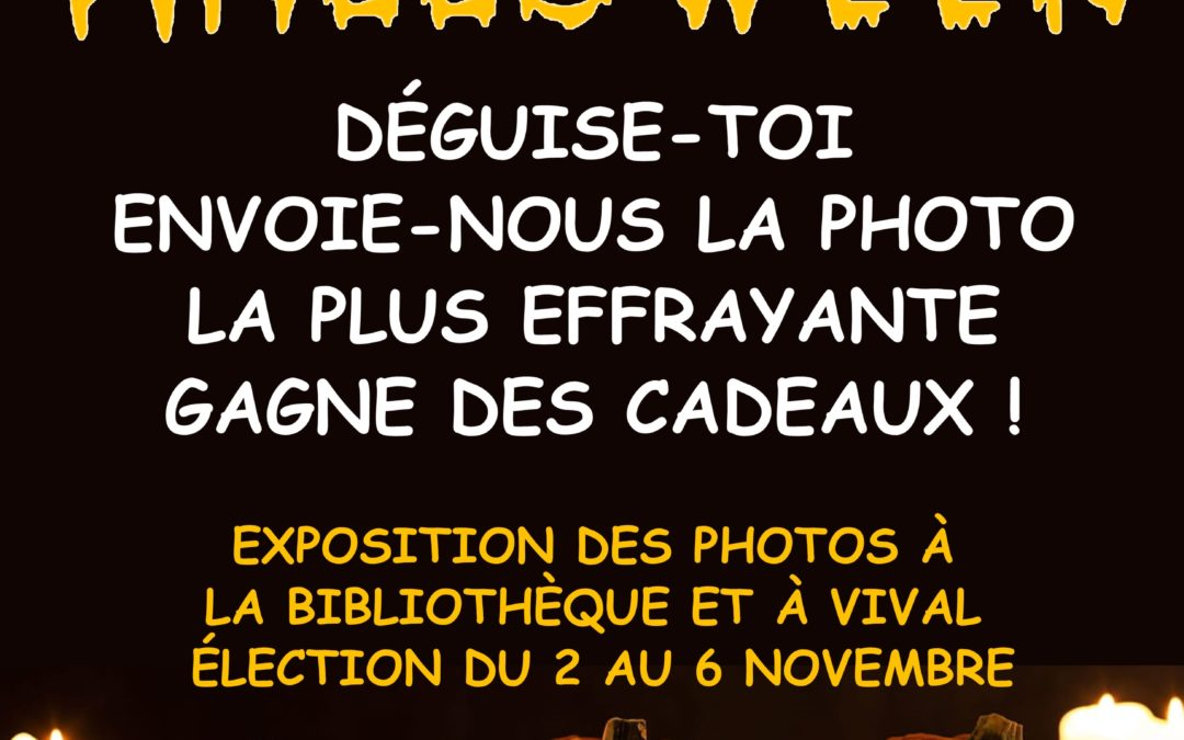 CONCOURS « SPECIAL HALLOWEEN »