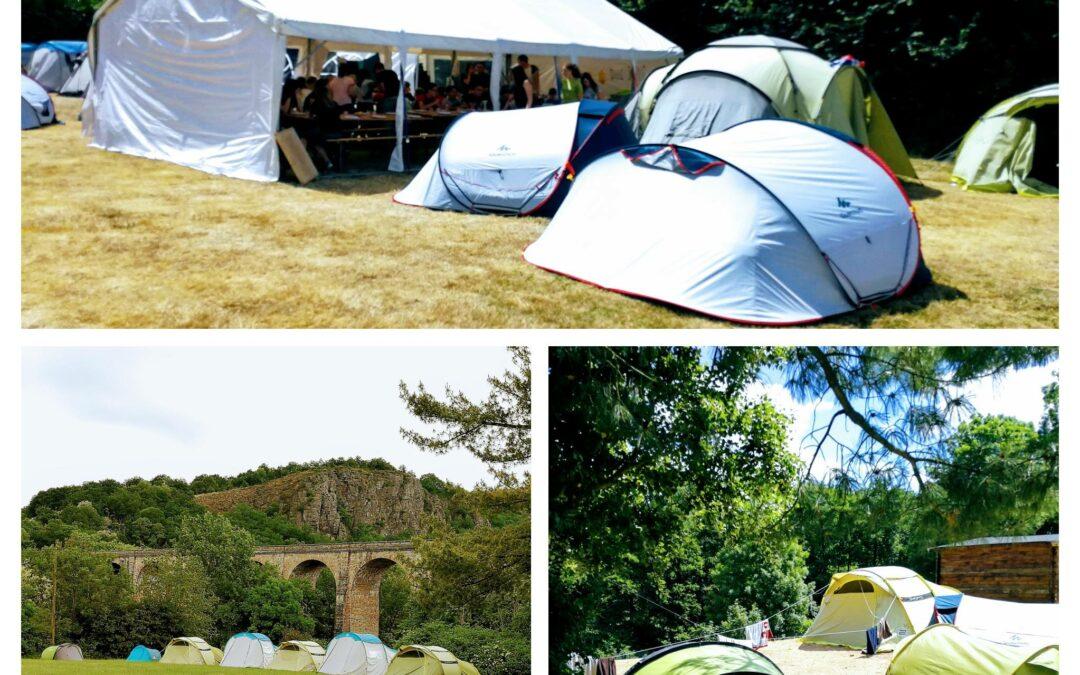Un mini-camp d'été à l'accueil de loisirs