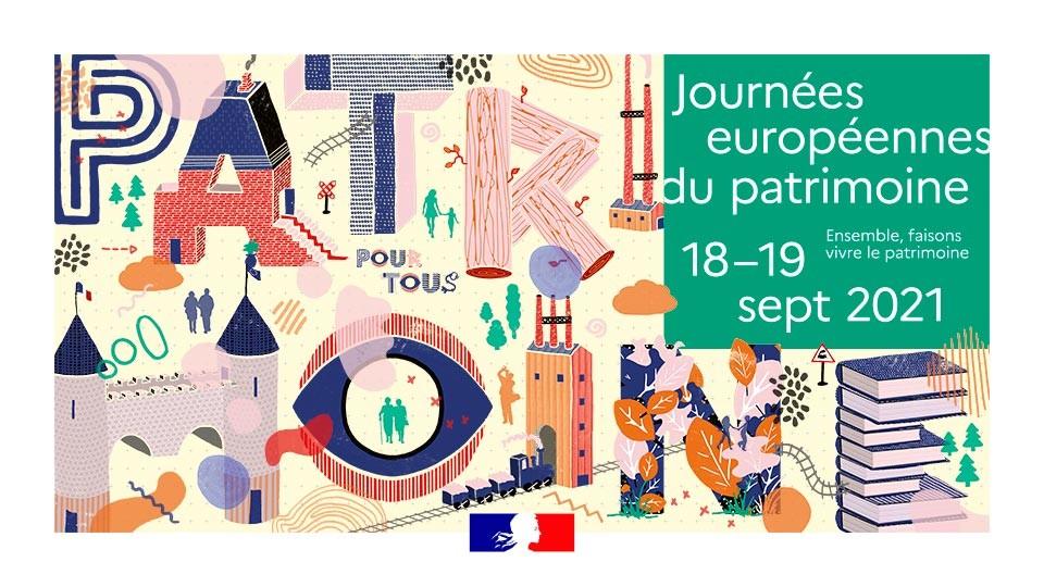 Journées du patrimoine 18 et 19 septembre 2021. Demandez le programme!